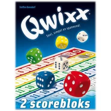 Scoreblokken Qwixx twee stuks