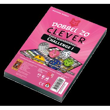Scoreblok Dobbel zo Clever Challenge