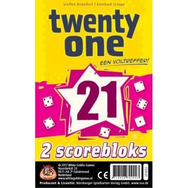 Twenty One (21) Bloks (extra scoreblokken)